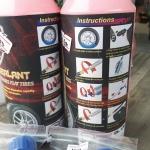 น้ำยาอุดรอยรั่วยางจักรยาน Freeda ขนาด 400 ml. ใช้ได้ทั้งยางรถเสือหมอบ เสือภูเขา มอเตอร์ไซค์ และรถยนต์