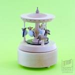 กล่องเพลงม้าหมุน (Multi Rotate) ♫ Canon In D (Hook) ♫ กล่องดนตรี Wooderful Life