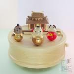 กล่องเพลง The Third Lotus Princes ♫ Railroad Song ♫ กล่องดนตรี Wooderful Life