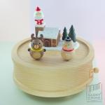 กล่องเพลง Snowing X'Mas ♫ The Twelve Days Of Christmas ♫ กล่องดนตรี Wooderful Life