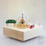 กล่องเพลงวัดอรุณ ♫ Kang Kao Kin Kluay ค้างคาวกินกล้วย ♫ กล่องดนตรี Wooderful Life