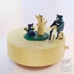 กล่องเพลง Formosa Black Bear ♫ Canon In D ♫ กล่องดนตรี Wooderful Life