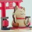 กล่องเพลง Lucky Cat ♫ Yurikago No Uta (ゆりかごの唄) ♫ กล่องดนตรี Wooderful Life thumbnail 6