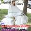 เสื้อกันฝนสีขาวขุ่นกี่งใส มอเตอร์ไซค์ รหัส 04-LX thumbnail 2