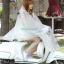 เสื้อกันฝนสีขาวขุ่นกี่งใส มอเตอร์ไซค์ รหัส 04-LX thumbnail 4