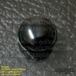 เพชรพญานาค รูปวงรี 0.8 ซม. สีดำ ( เป็นสีที่หายากมาก )