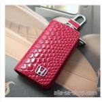 กระเป๋าซองหนัง ลายนูน HONDA หรูหรามีระดับ สีแดง
