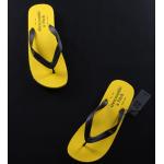 รองเท้าแตะ ผู้ชาย Abercrombie AF สีเหลือง ไซส์ 41