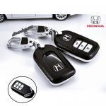 กรอบ-เคส ใส่กุญแจรีโมทรถยนต์ Honda Accord All New City,Hatchback Smart Key 3 ปุ่ม สีดำ