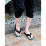 รองเท้าแตะชาย K - Swiss inspired Plush 2 สีเขียว ไซส์ 42