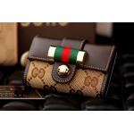 กระเป๋าพวงกุญแจ Gucci กุชชี่ ลายใหม่ คุณภาพเป็นเลิศ สี น้ำตาล (Pre)