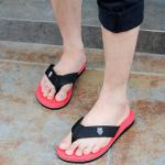 รองเท้าแตะชาย K - Swiss inspired Plush 2 สีแดง ไซส์ 42