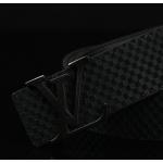 เข็มขัดหลุยส์ Louis Vuitton Belts 2014 : เกรดพรีเมี่ยม สายสีดำ/หัวสีดำ