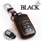 ซองหนังแท้ กุญแจรีโมท Honda Accord All New City Smart Key 3 ปุ่ม สีดำ