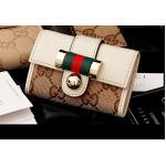 กระเป๋าพวงกุญแจ Gucci กุชชี่ ลายใหม่ คุณภาพเป็นเลิศ สี ขาว (Pre)