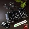 กรอบ-เคส ใส่กุญแจรีโมทรถยนต์ Honda Accord All New City Smart Key 3 ปุ่ม รุ่นเรืองแสง