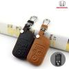 ซองหนังแท้ กุญแจรีโมทรถยนต์ Honda Civic FB,CR-V Keyless 3 ปุ่ม