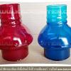 ขายส่งแก้วสีครอบเทียน หลากสี เช่น น้ำเงิน ม่วง ชมพู แดง ส้ม เขียว ราคาพิเศษ