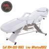 เตียงสักลาย เตียงนอนสัก เตียงพับได้ เตียงพกพา สำหรับการสัก นวด สปา Multifunctional Foldable Portable Massage Tattoo Parlor Spa Bed (สีขาว WHITE)