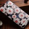 เคส asus zenfone selfie ZD551KL TPU พิมพ์ลาย 3D ดอกไม้