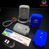 ปลอกซิลิโคน หุ้มกุญแจรีโมทรถยนต์ Honda HR-V,Jazz,CR-V,BR-V 2016 Smart Key 2 ปุ่ม สี เทา,น้ำเงิน