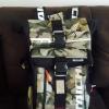 กระเป๋าเป้สะพายหลังขี่มอเตอร์ไซค์ยี่ห้อ TAICHI 30 ลิตร ลายพราง