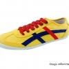 [พร้อมส่ง] รองเท้าผ้าใบแฟชั่น รุ่น Osaga สีเหลืองกรม