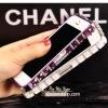 ฟรุ้งฟริ้ง:เคสกันรอยประดับด้วยคริสตัล สำหรับ iPhone 5/5s