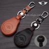 ซองหนังแท้ ใส่กุญแจรีโมทรถยนต์ MINI Cooper Countryman รุ่น 3 ปุ่ม