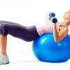 ลูกบอลออกกำลังกาย ฟิตเนสบอล บอลโยคะ พร้อมสุขภาพดี