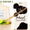 เคส asus zenfone 6 ฝาพับ FLIP COVER ลายการ์ตูน MOO