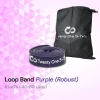 ยางยืดออกกำลังกายแบบห่วง Loop Band Purple (Robust)