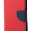 เคส asus zenfone max zc550kl ฝาพับ ฝาปิด MERCURY FANCY DIARY สีแดง-น้ำเงิน มีที่ล็อคด้านข้าง สีสันสดใส เรียบ สวย เท่ห์