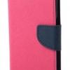 เคส asus zenfone 2 laser 5.5 ze550kl ฝาพับ mercury fancy diary case สีชมพูเข้ม-น้ำเงิน