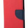เคส asus zenfone 2 laser 5.5 ze550kl ฝาพับ mercury fancy diary case สีแดง-น้ำเงิน