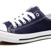 [พร้อมส่ง]รองเท้าผ้าใบแฟชั่น สีกรม รุ่น 191