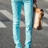กางเกงขายาวผ้ายืด