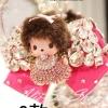 ตุ๊กตานางฟ้า+โบว์ ห้อยหน้ารถ จากเกาหลี