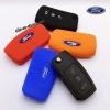 ปลอกซิลิโคน หุ้มกุญแจรีโมทรถยนต์ Ford Fiesta,Focus พับข้าง รุ่น 3 ปุ่ม
