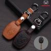 ซองหนังแท้ ใส่กุญแจรีโมทรถยนต์ Honda City,Jazz,Civic,CR-V,Accord รุ่น 3 ปุ่ม
