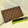 กระเป๋าสตางค์แบบซิบหน้าล๊อก/กระเป๋าคลัทช์ Louis Vuitton,Gucci หนัง PU