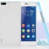 พร้อมส่ง!!สีเทาดำ**เคส Huawei/Honor6 Plus-เคสพุดดิ้งยาง