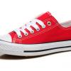 [พร้อมส่ง]รองเท้าผ้าใบแฟชั่น สีแดง รุ่น 191