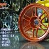 """แม็กซ์ 18"""" ENKEI RPF-1 DS014 5H114.3"""