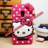 เคส zenfone 6 ซิลิโคน การ์ตูน 3D KITTY สี ROSE (ชมพูเข้ม) Cute Silicone Soft Case/Cover