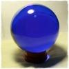ลูกแก้ว มงคล (สีน้ำเงิน)