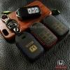 ซองหนังแท้ กุญแจรีโมท Honda Accord All New City Smart Key 3 ปุ่ม รุ่น ด้ายสี