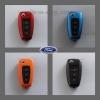 กรอบ-เคส ABS ใส่กุญแจรีโมทรถยนต์ Foed Ranger All New Foucs รุ่น 3 ปุ่ม