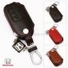 ซองหนังแท้ ใส่กุญแจรีโมทรถยนต์ รุ่นแบบสวมถอดได้ Honda Accord All New City Smart Key 3 ปุ่ม