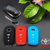 ปลอกซิลิโคน หุ้มกุญแจรีโมทรถยนต์ Toyota Hilux Revo Smart Key กุญแจอัจฉริยะ 3 ปุ่ม